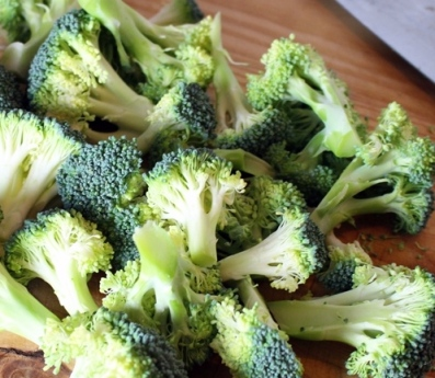 Pan Seared Broccoli. Small Town Girl Blog.