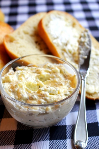 Food Hacks: Garlic Butter Spread. Small Town Girl Blog