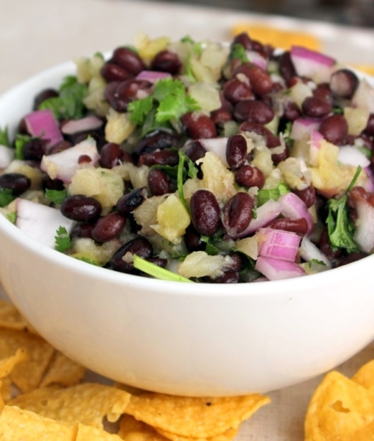 Kat's Black Bean Salsa. Fast and easy to make. This will be a huge hit at your next get together. Small Town Girl Blog.