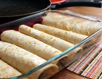 Mom's Meaty Enchiladas