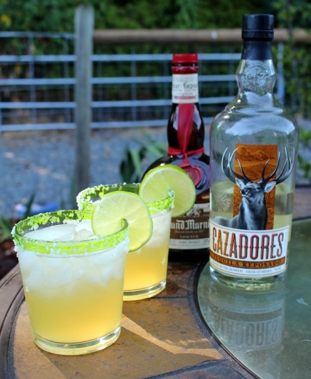 The Cadillac Margarita. Made with top shelf liquors, fresh lime, and agave nectar. This is the best margarita you will ever have!!!